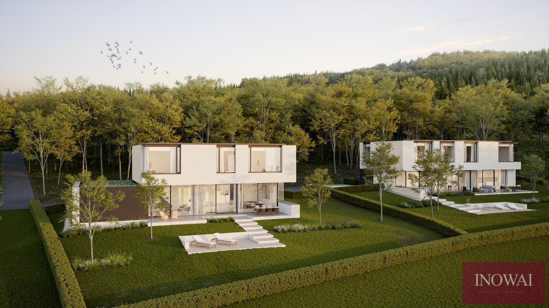 Deux magnifiques villas contemporaines